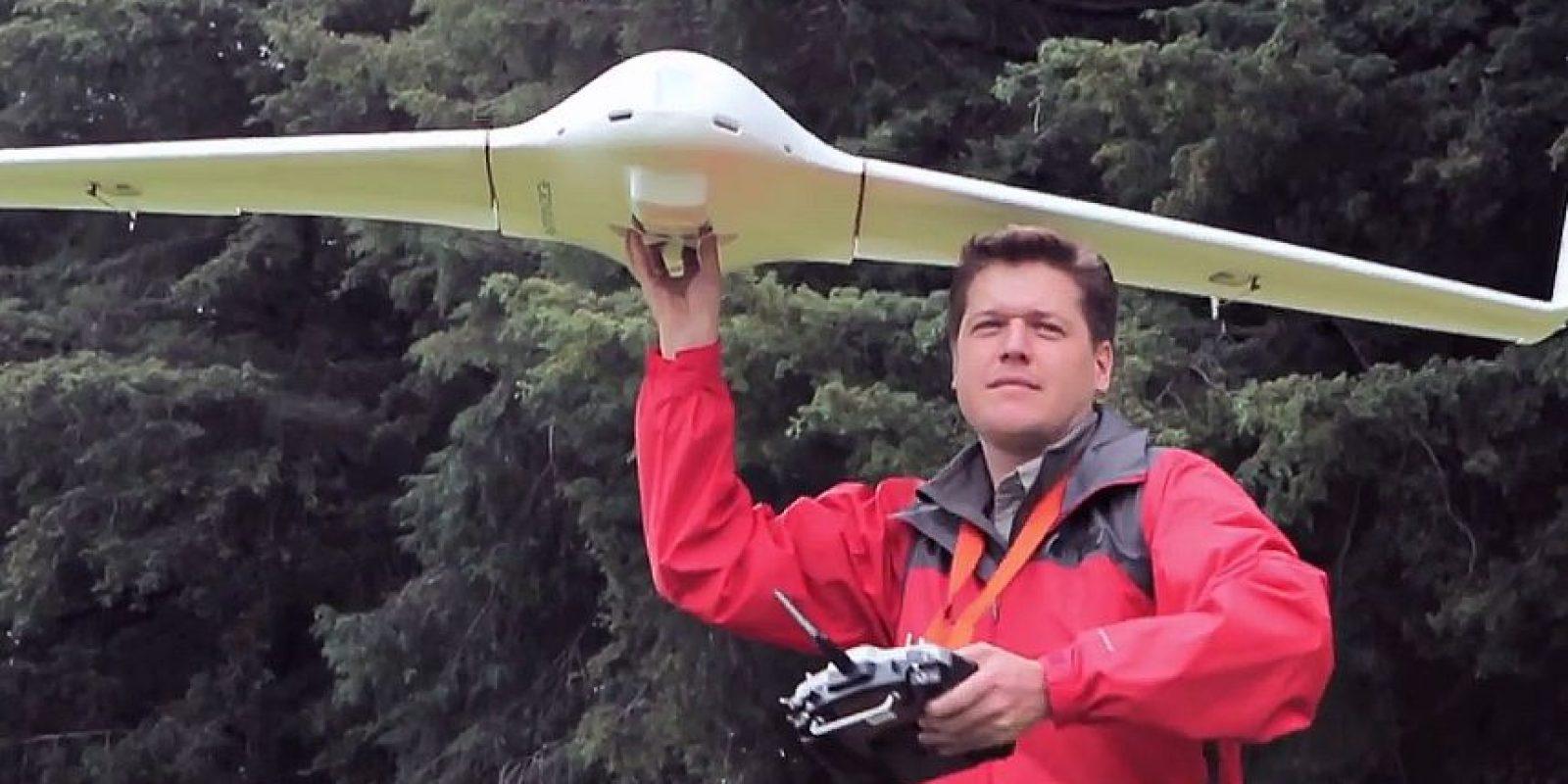 """El ingeniero detalló que utiliza aeronaves de ala fija de tipo trapezoidal """"straight tapared"""" para conseguir un largo alcance. Foto:UVM"""