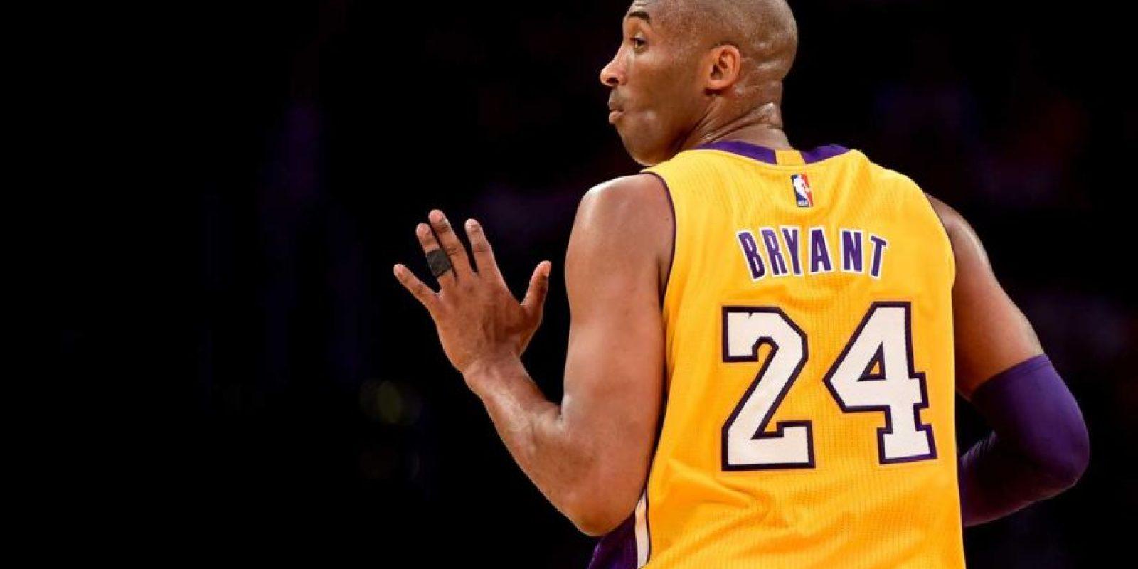 Por esto y más, Kobe es inolvidable para la NBA. Foto:Getty Images