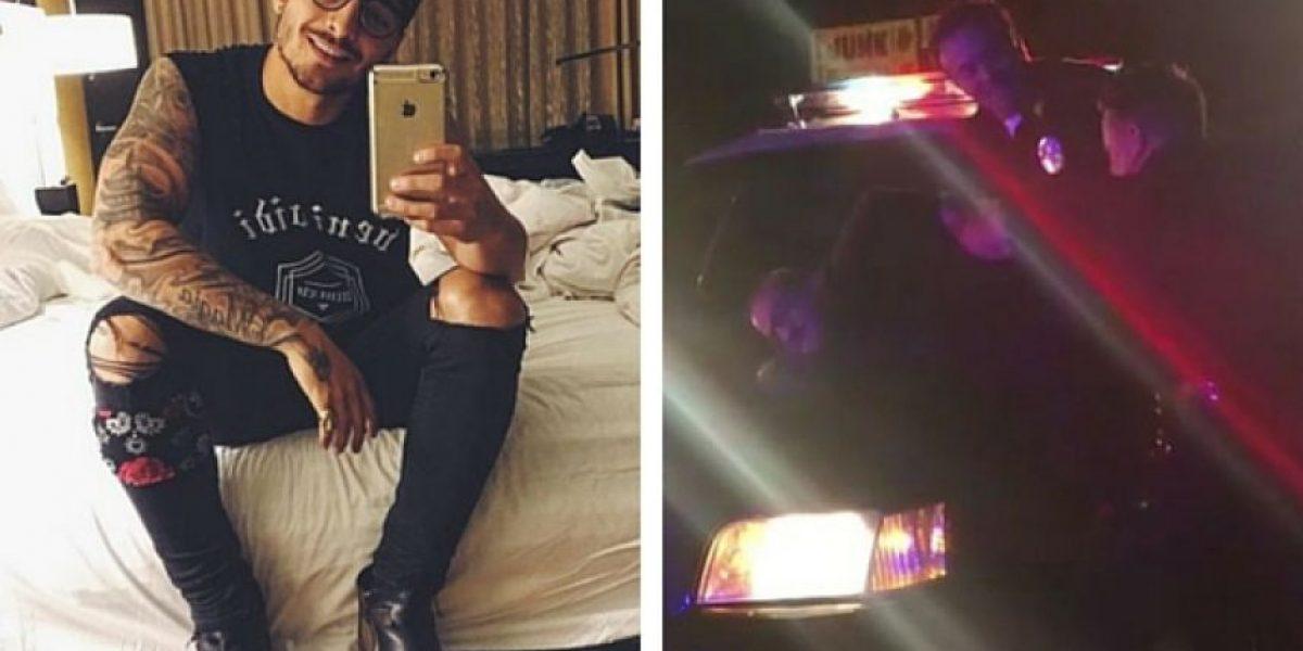 Maluma, ¿detenido por agentes de la policía?