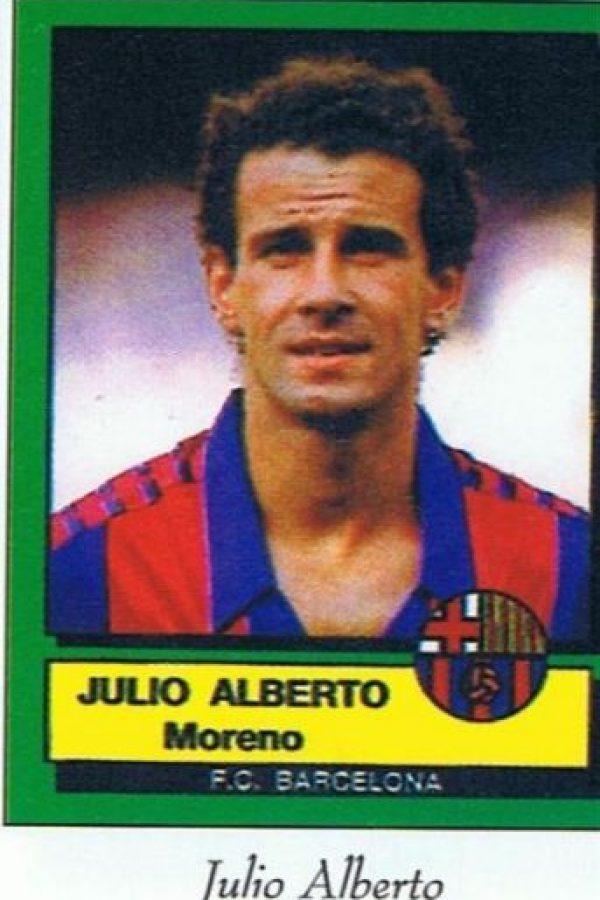 Con el Barça ganó la Copa de la Liga de 1982, la Copa del Rey de 1983 y la Supercopa de España de 1984. Foto:blaugranas.com