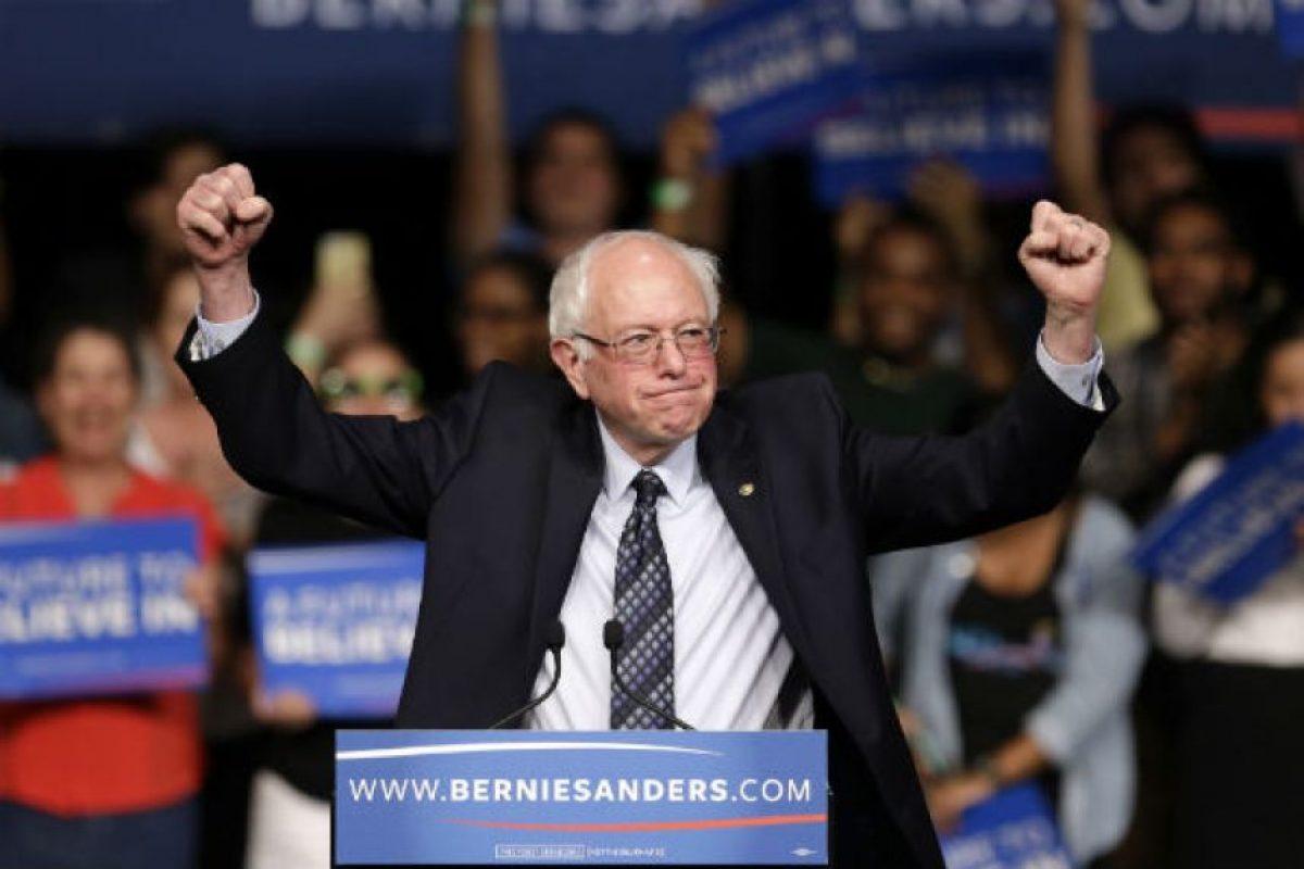 Bernie Sanders es un político estadounidense, senador junior de los Estados Unidos por el estado de Vermont, de 74 años. Foto:Getty Images