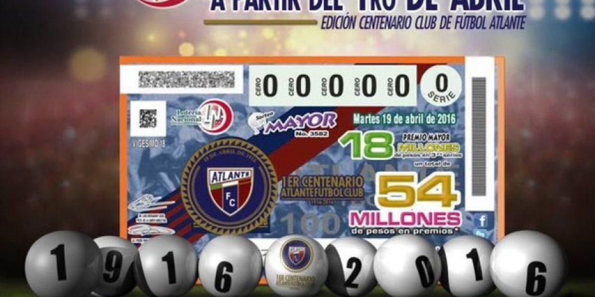 Atlante hace historia en el sorteo de la Lotería Nacional
