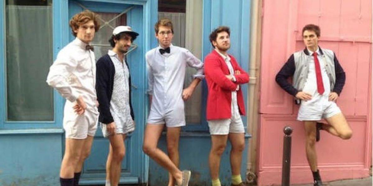 Calzón y camisa, crean el Calchemise para hombres