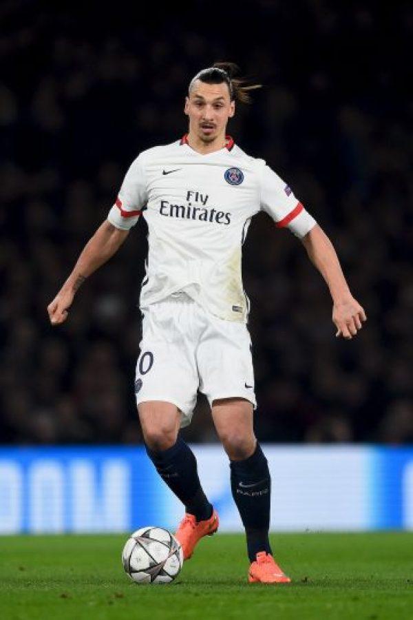 Zlatan Ibrahimovic llegaría al club gratis, pues termina contrato con PSG Foto:Getty Images