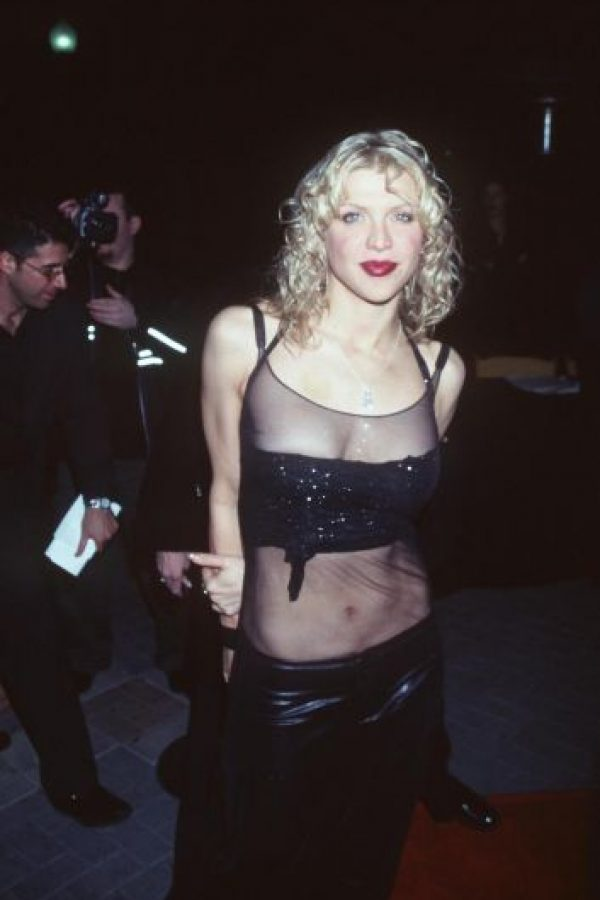 Así lucía Courtney en 1999 Foto: Getty Images