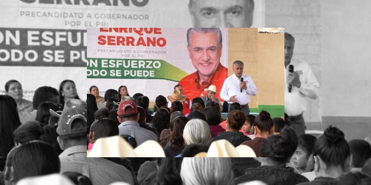 Presentan queja por discurso misógino de Enrique Serrano Escobar