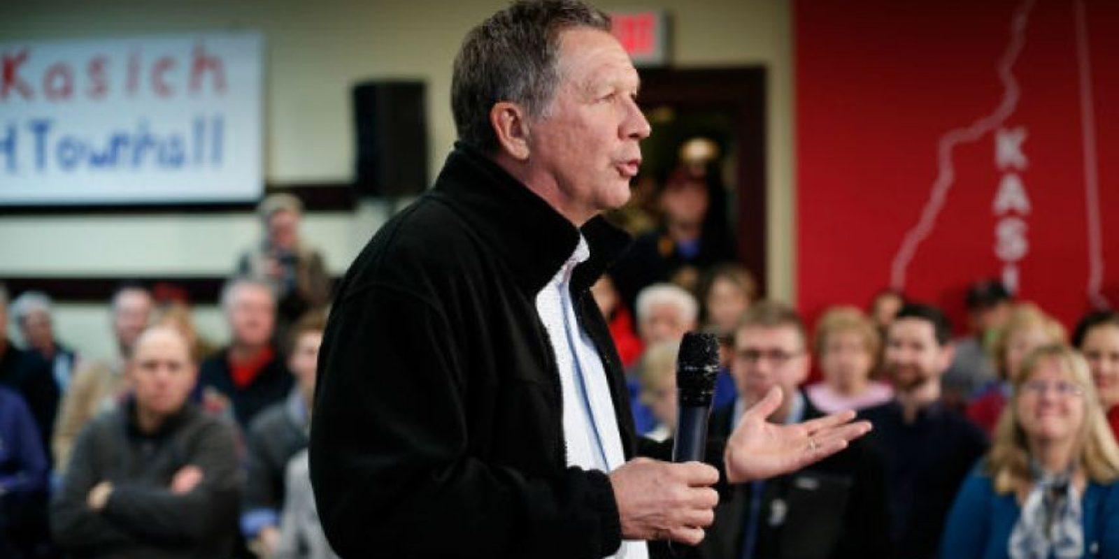 Gobernador del estado de Ohio. Miembro del Partido Republicano, de 63 años. Foto:AP