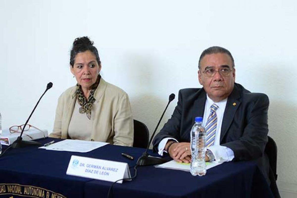 Ada Avendaño y Germán Álvarez impulsores de este proyecto Foto:dgs.unam