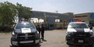 Los sujetos que el sábado por la noche entraron a una casa en Apodaca, Nuevo León, amarraron y luego asesinaron a nueve personas llegaron al lugar en un camión de mudanzas Foto:Cuartoscuro