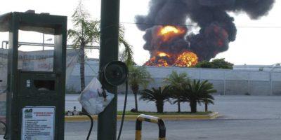 Explosión en Tamaulipas Foto:Cuartoscuro