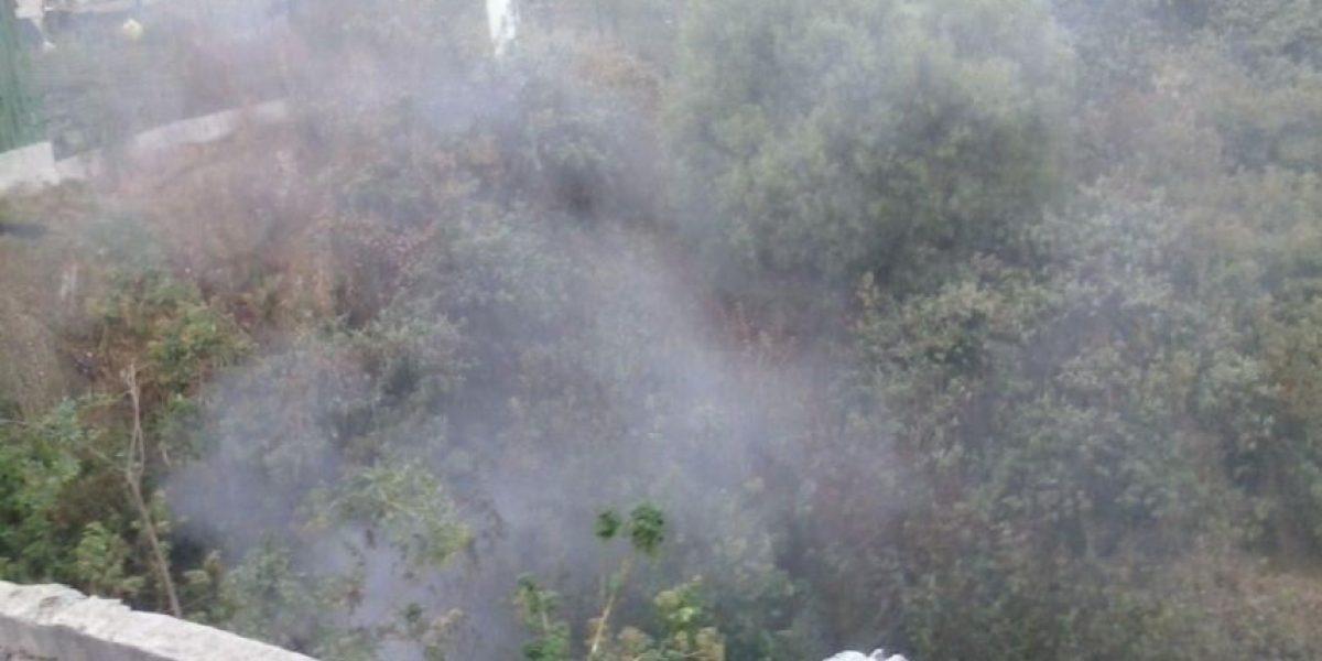 Denuncian quema de basura en UH de Santa Fe y bloqueo a bomberos