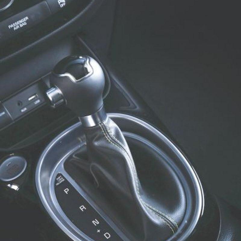 Transmisión manual y automática de seis velocidades. Foto:KIA