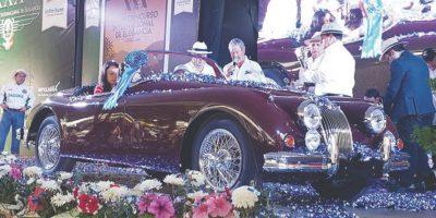 Jaguar XK 150 S Roadster 1958, como Mejor Europeo y Best of show. Foto:Marco Alegría