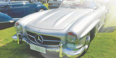 Mercedes Benz es sin duda uno de los grandes expositores cada año en estegran evento de autos clásicos Foto:Marco Alegría