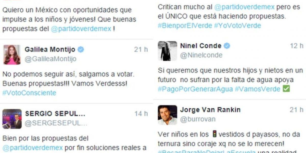 PVEM, responsable por tuits de famosos durante veda en 2015: TEPJF