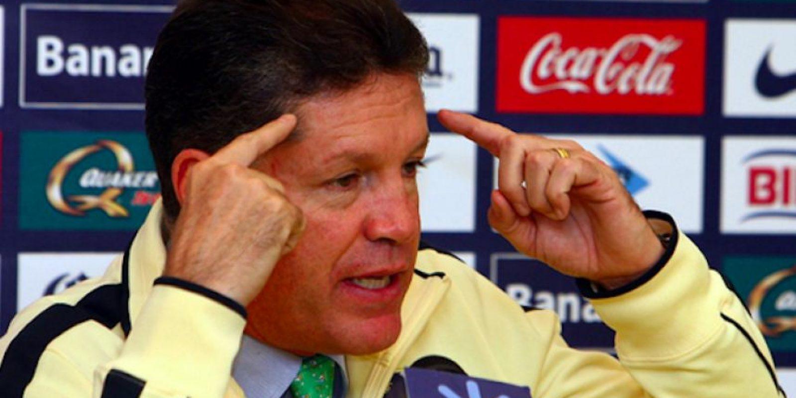 Ricardo Peláez, presidente deportivo de América. Foto:Mexsport