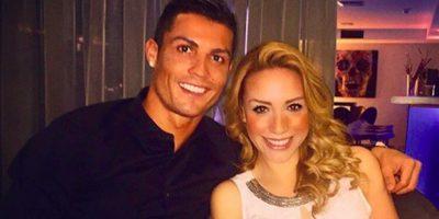 Esta es la foto que llevó a Manríquez a ser relacionada con Cristiano Ronaldo. Se capturó en Madrid, España. Foto:Instagram: @babywingz