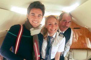 """La atractiva piloto ha piloteado aviones para diversas personalidades, incluído Sergio """"Checo"""" Pérez. Foto:Instagram: @babywingz"""