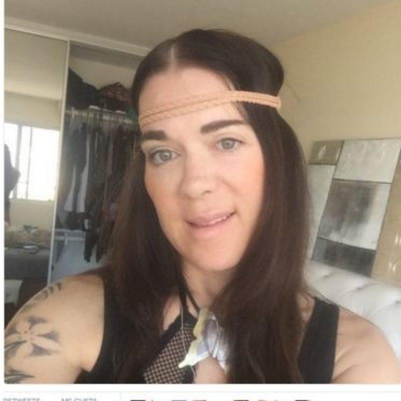 Su última selfie Foto:Twitter.com/ChynaJoanLaurer