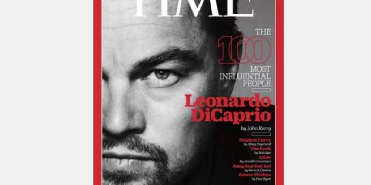 Leonardo DiCaprio entre los más influyentes según Time
