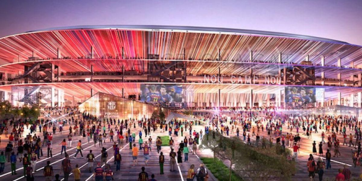 VIDEO: ¡Un sueño abierto al mundo! Barcelona presenta maqueta del nuevo Camp Nou