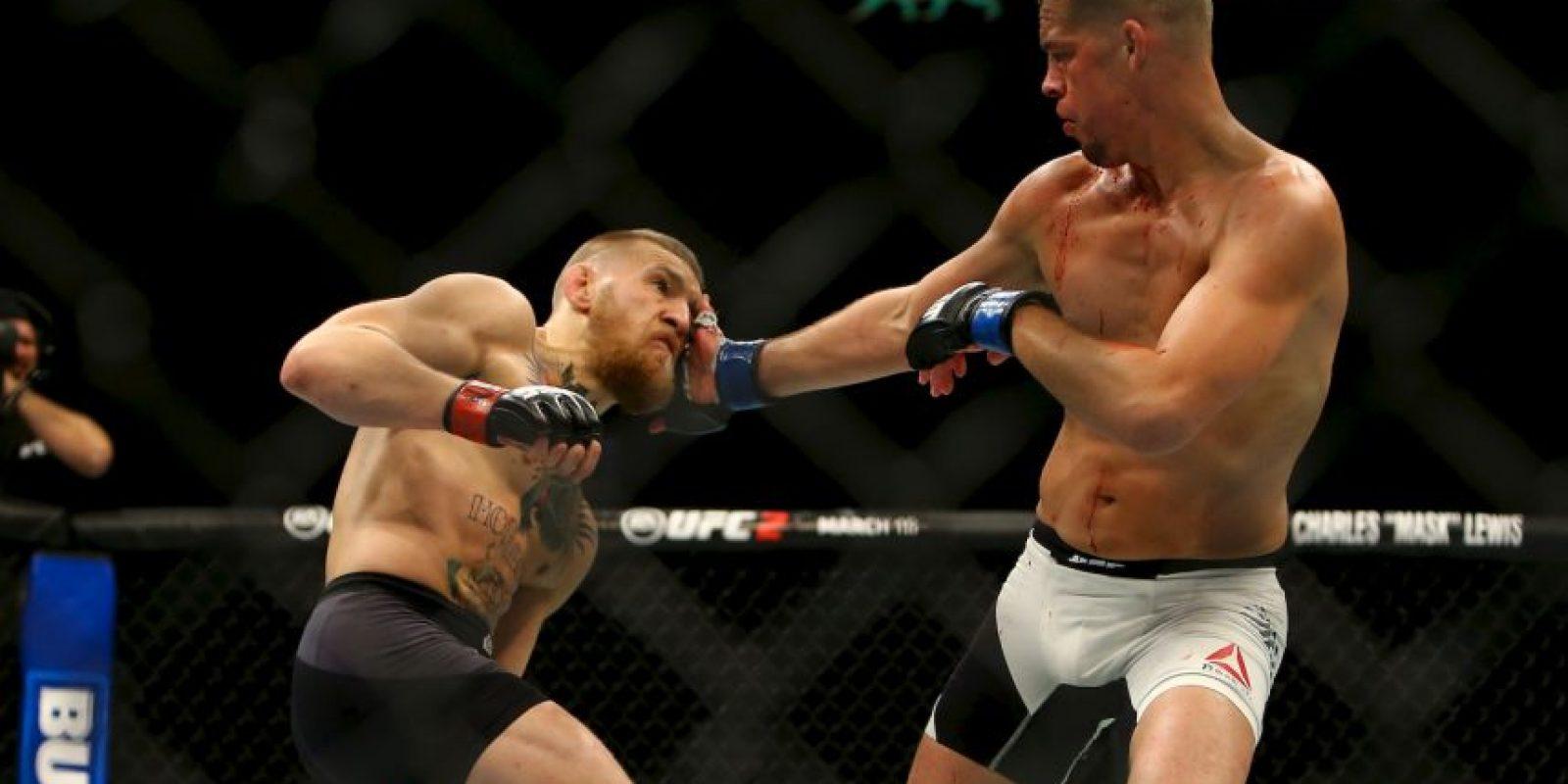 """Pero una indisciplina de Conor al no participar en las promociones del evento, lo """"bajó"""" de la cartelera. Foto:WWE"""