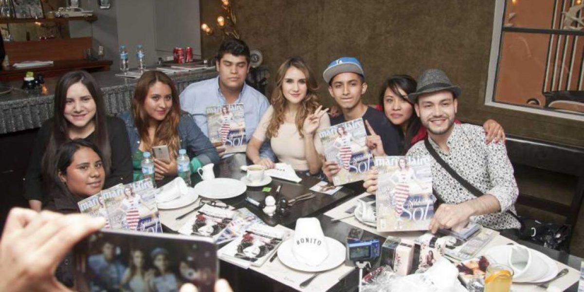 Dulce María cumple el sueño de sus fans, en divertida convivencia