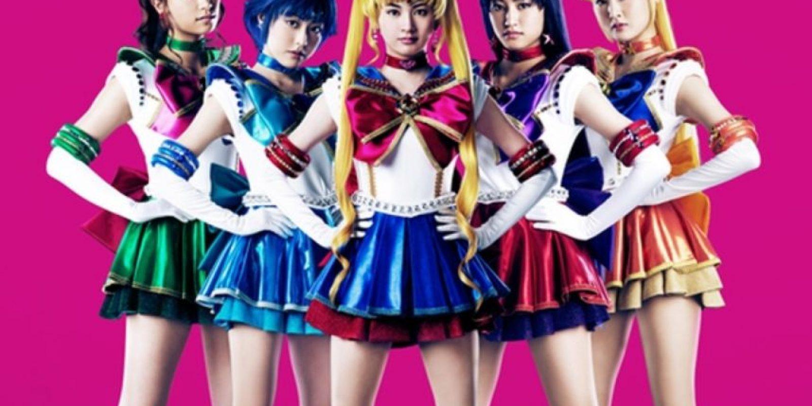 Han existido musicales de Sailor Moon desde 1993 hasta 2004. Se han hecho otros más para el aniversario número 20. Foto:BANDAI
