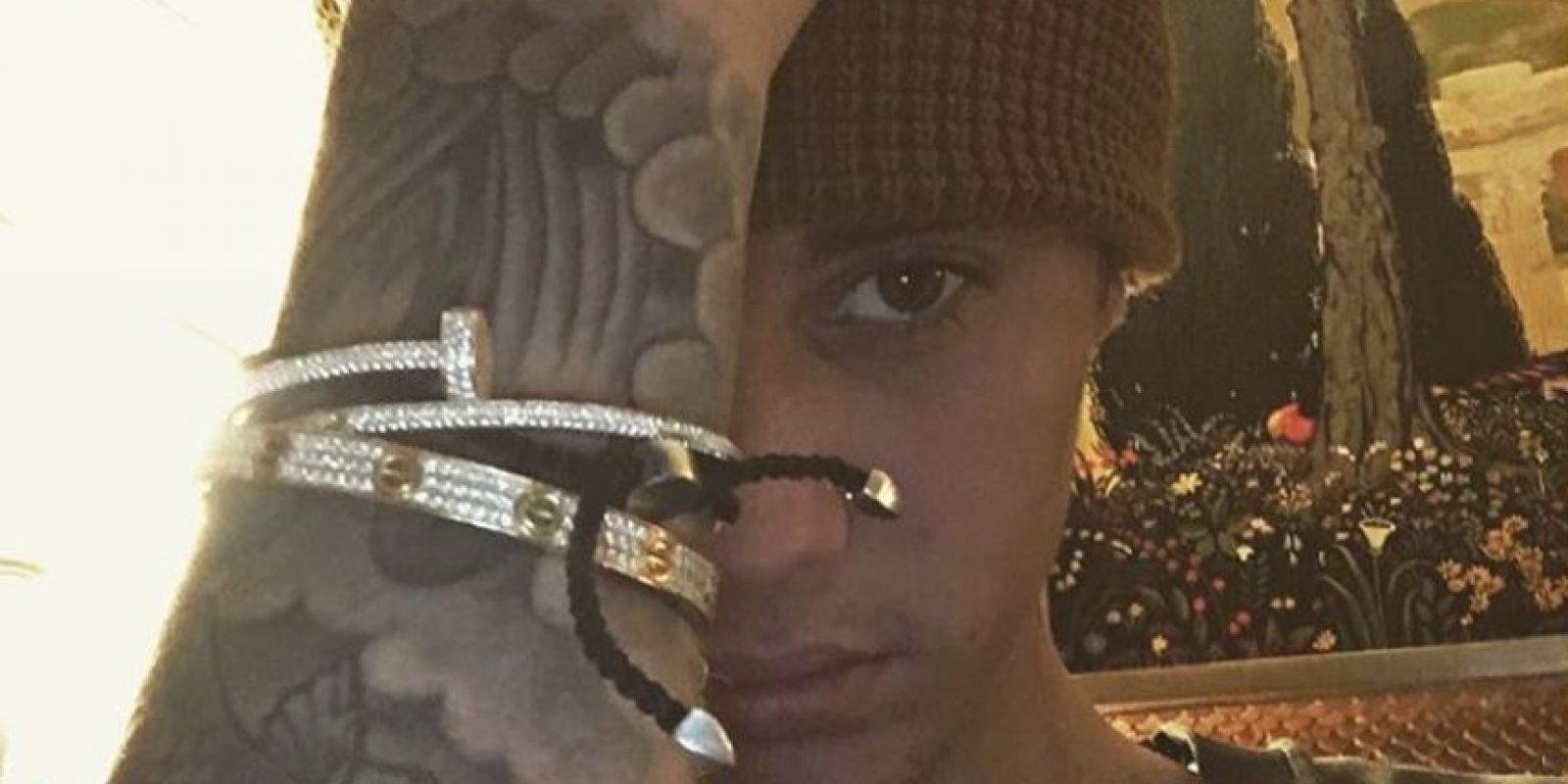 En ellas no luce tan bien Foto:Vía Instagram/@justinbieber