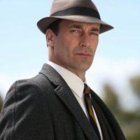 Aunque su personaje, Don Draper (de Mad Men) es un misógino, John Hamm no lo es Foto:vía AMC