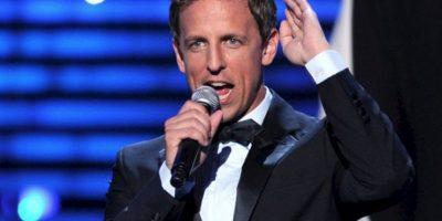 """""""Cuando trabajas con las mujeres fuertes que yo he trabajado, la idea de que alguien decida por ellas es una tontería"""", dice Seth Meyers, actor de Saturday Night Live. Foto:vía Getty Images"""