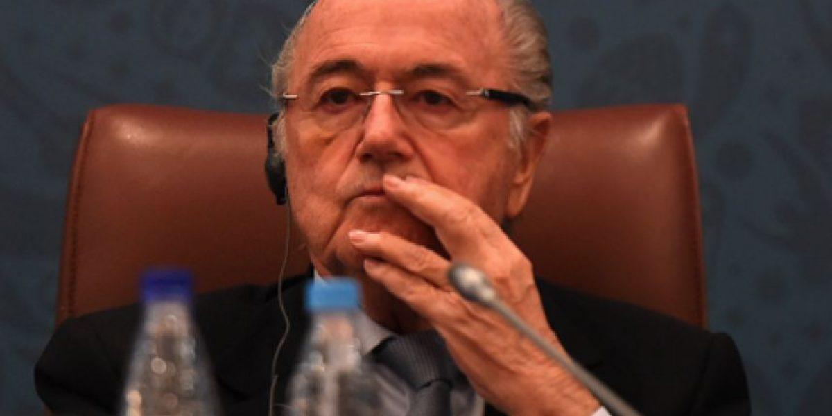 Joseph Blatter presenta su libro y afirma: