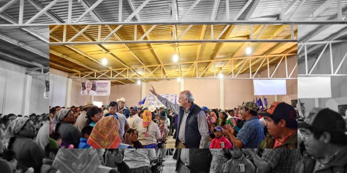 Le estamos pisando los talones al PRI en las encuestas: Chacho Barraza