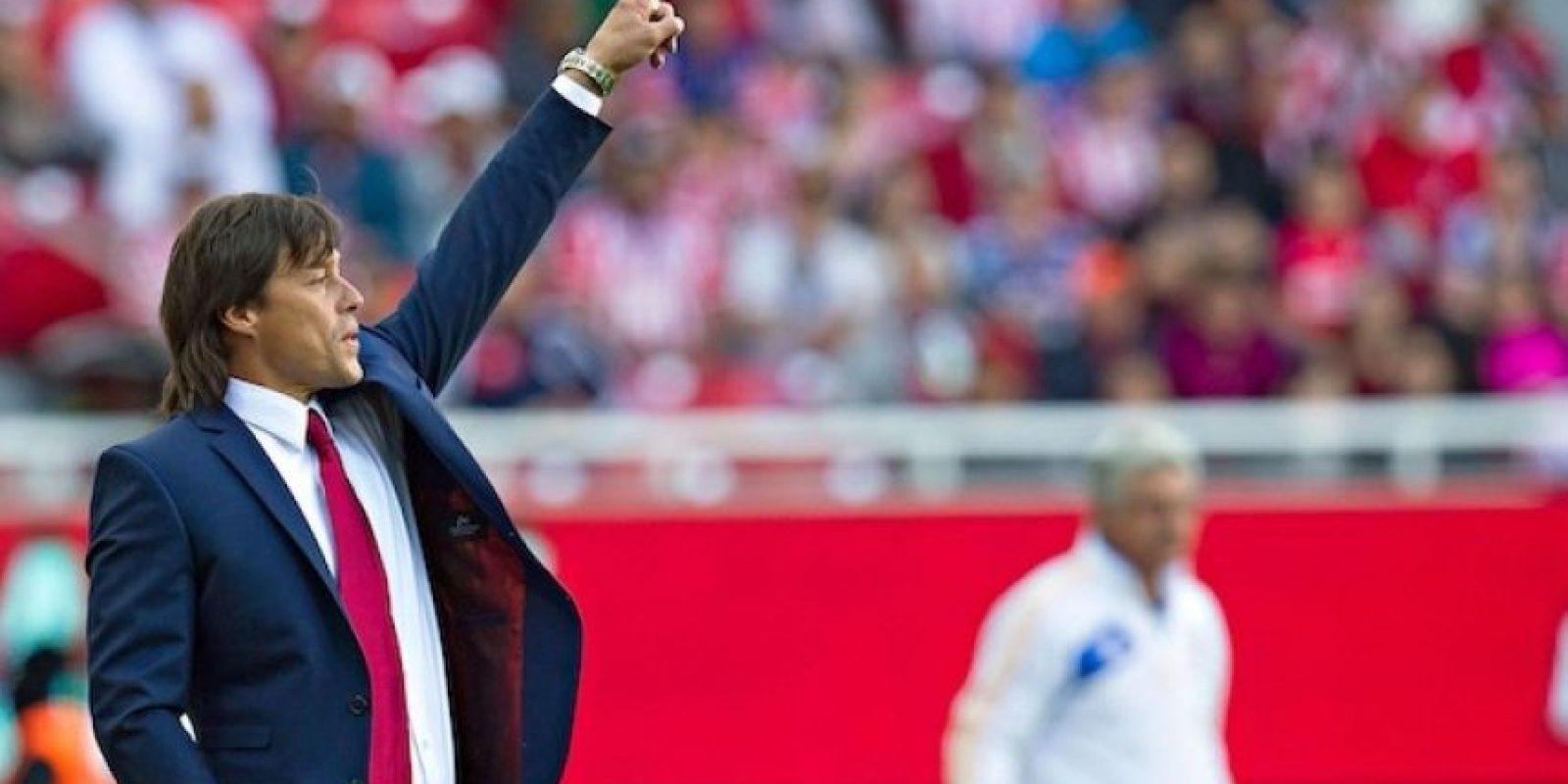 """El estratega de las Chivas, """"Pelado"""" Almeyda, admitió que sueña con dirigir en un Mundial. Foto:Mexsport"""