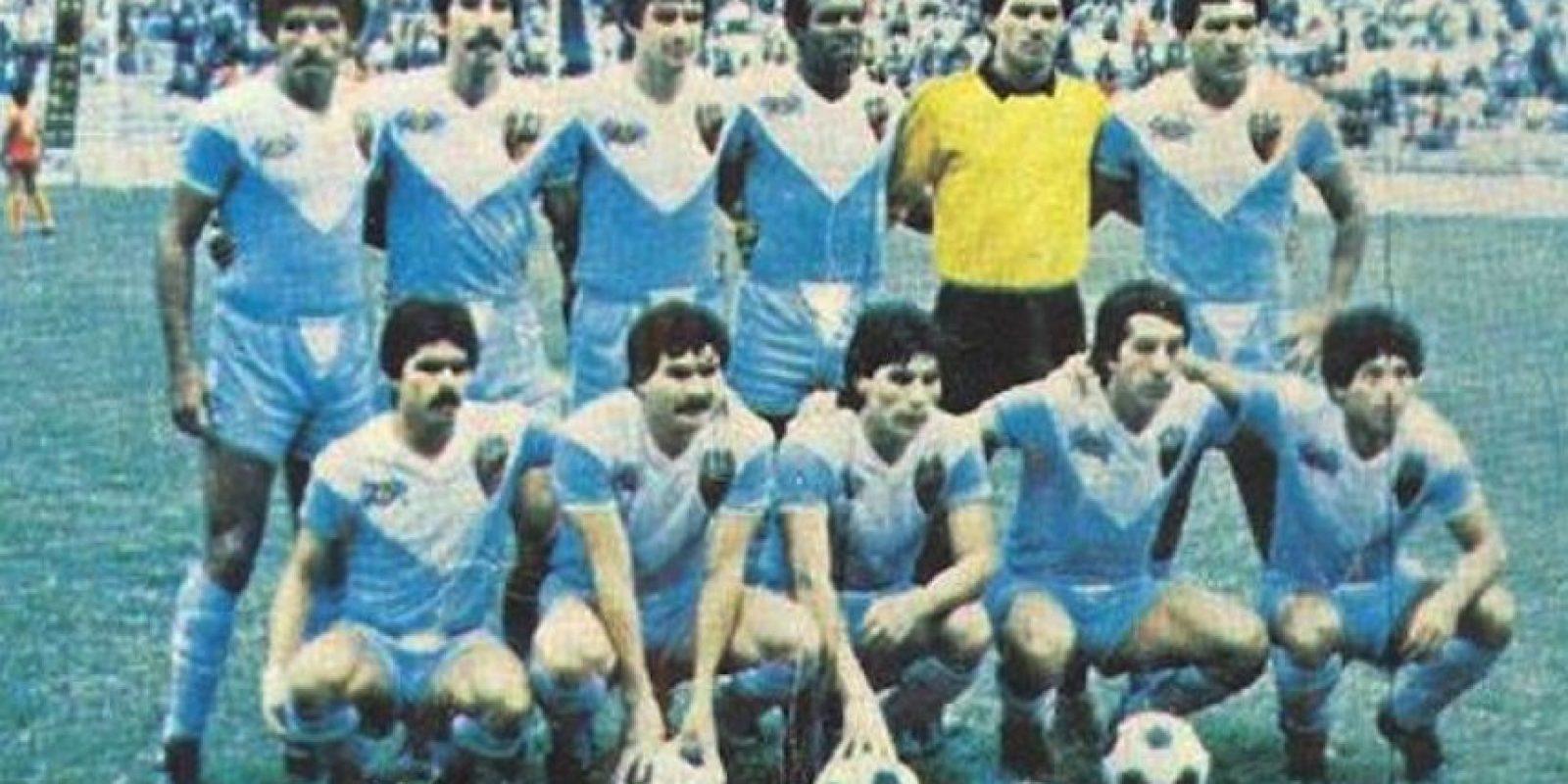 La Jaiba Brava resultó subcampeón del Torneo PRODE 1985 Foto:Twitter