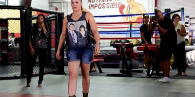 3. Ronda Rousey (Peleadora) Foto: Getty Images