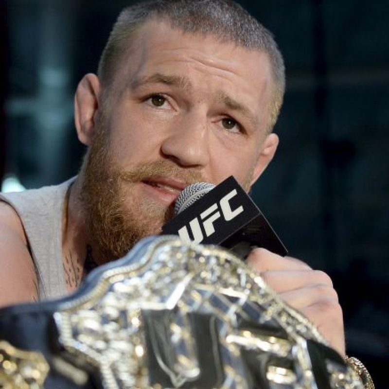2. Conor McGregor (Peleador de UFC) Foto:Getty Images