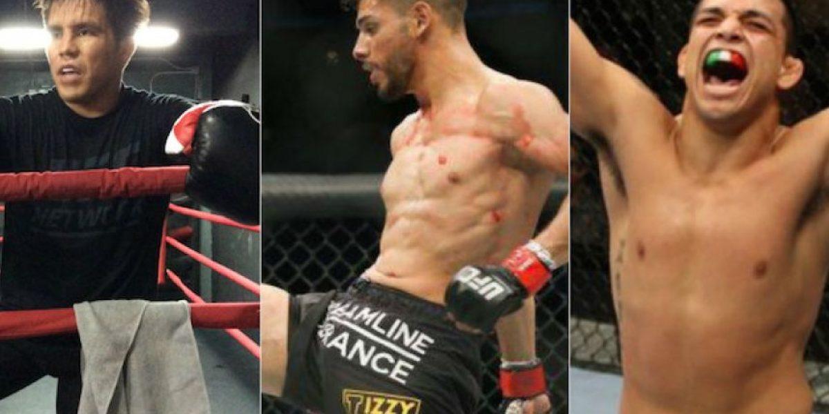 Tres mexicanos en busca de la gloria en UFC 197