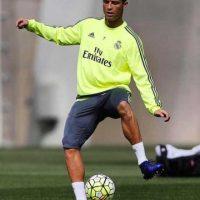 El delantero portugués se perdió su primer partido en la campaña por una sobrecarga muscular. Foto:Vía instagram.com/Cristiano