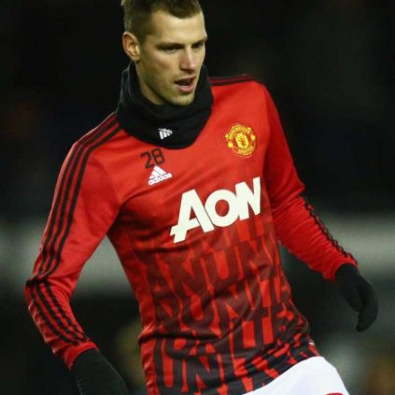 "Morgan Schneiderlin: ""La cicatrice"" de Bruce Lowery Foto: Getty Images"