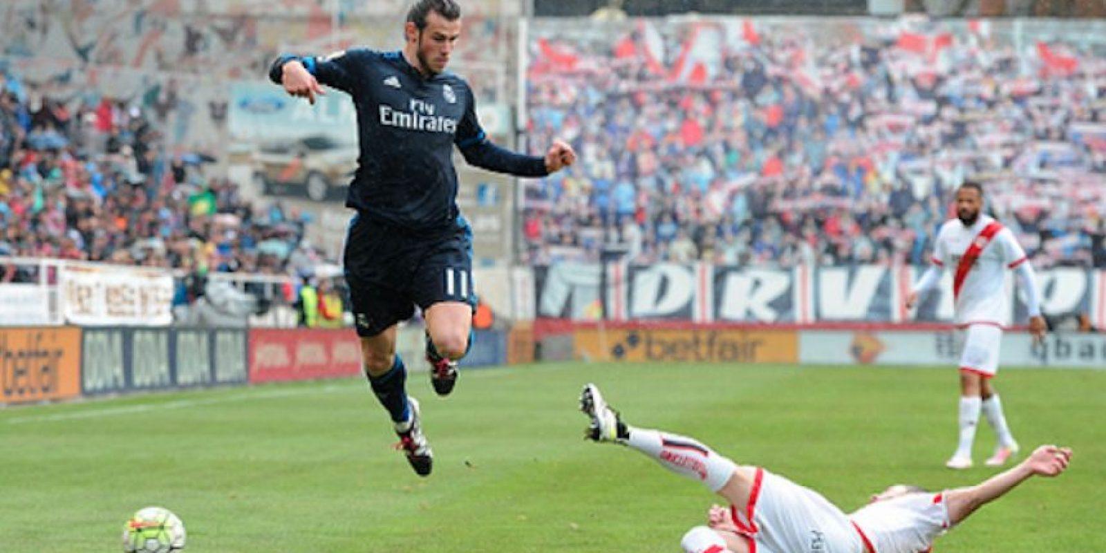 Gareth Bale anotó un doblete que le dio la ventaja a los madrileños. Foto:Getty Images