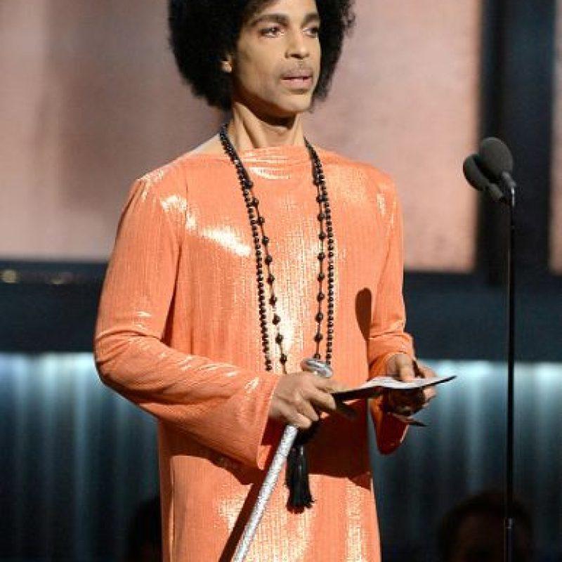 """El disco y la película """"Purple Rain"""" llegaron a esa posición Foto:Getty Images"""