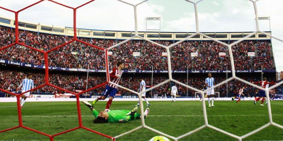 Pese a gran actuación de Memo Ochoa, el Málaga cae ante Atlético de Madrid