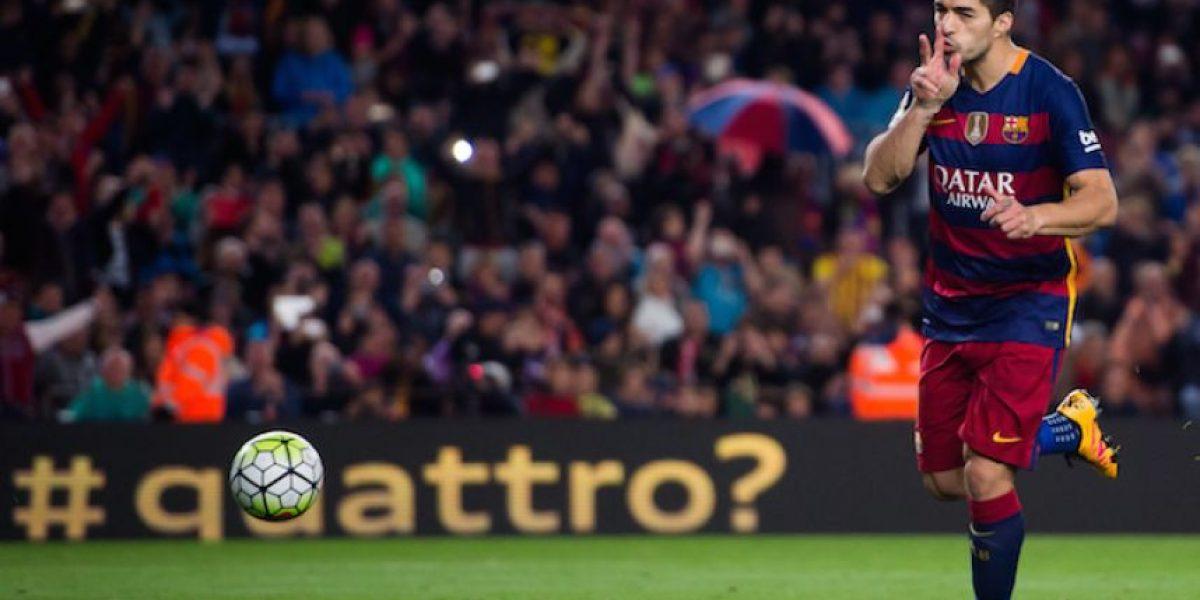 ¡La noche de Suárez! Con otro póquer el uruguayo acerca al Barça a la Liga