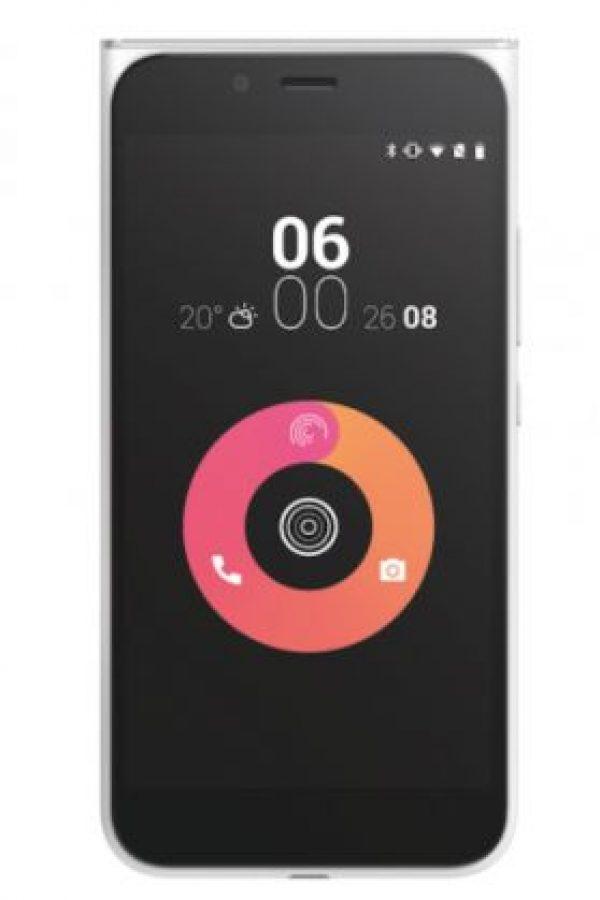 Así es por fuera el nuevo teléfono que quiere conquistar América Latina. Foto:Obi Worldphone
