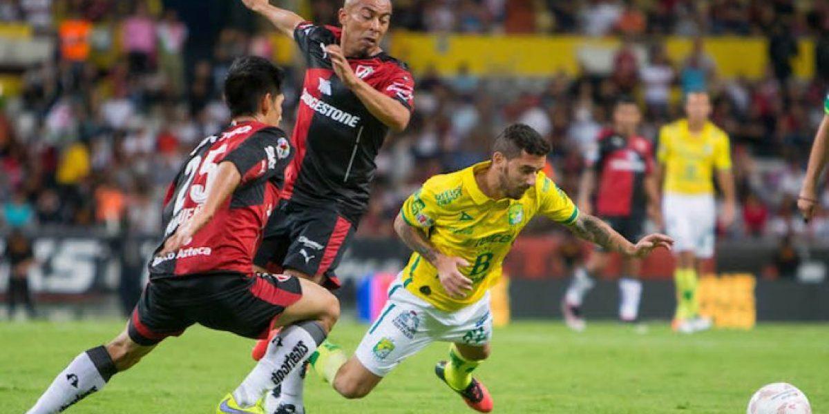 Atlas no sabe ganar y ahora se deja alcanzar por León