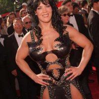 Fue la luchadora estrella de la WWE (en la época de la WWF). Foto:Getty Images