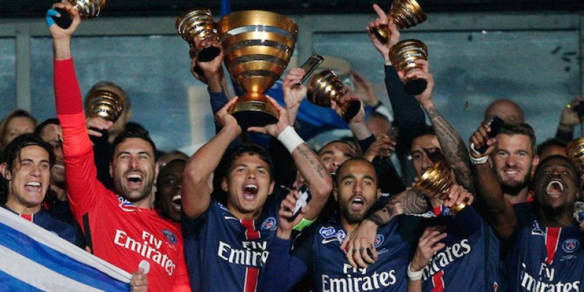 PSG consigue la Copa de la Liga de Francia