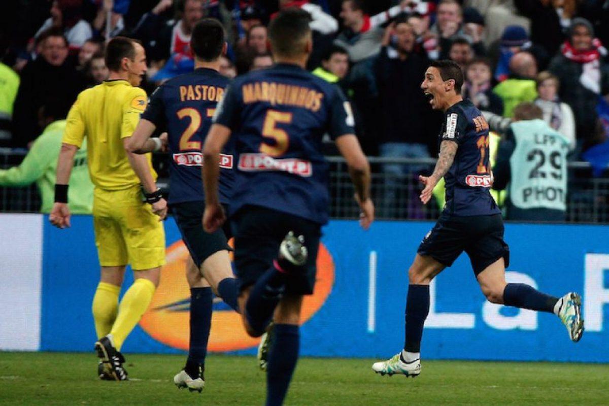 PSG consigue la Copa de la Liga de Francia Foto:AP