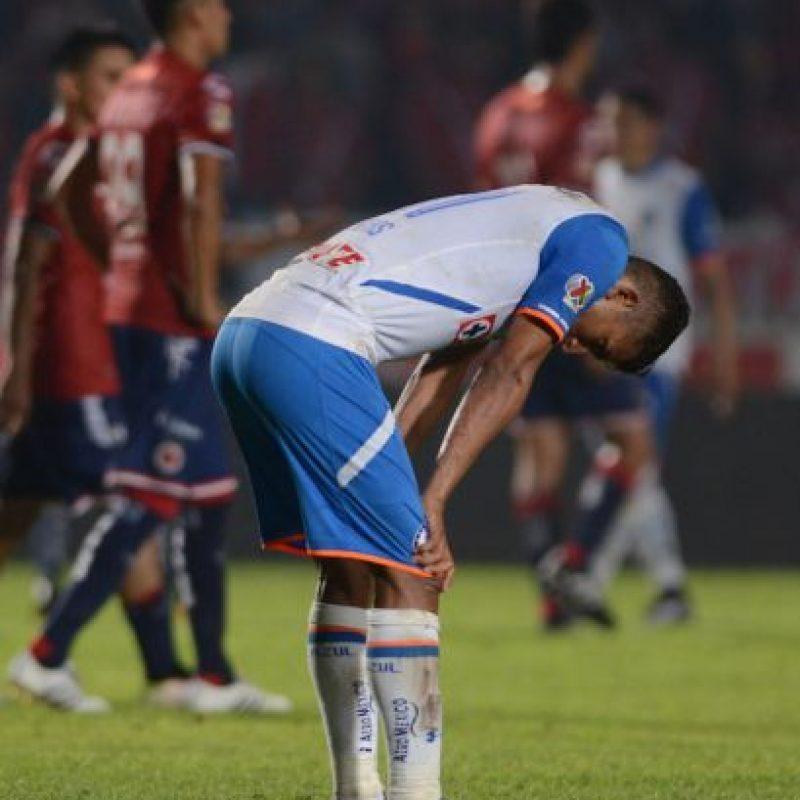 Cruz Azul está de capa caída. Foto:Mexsport